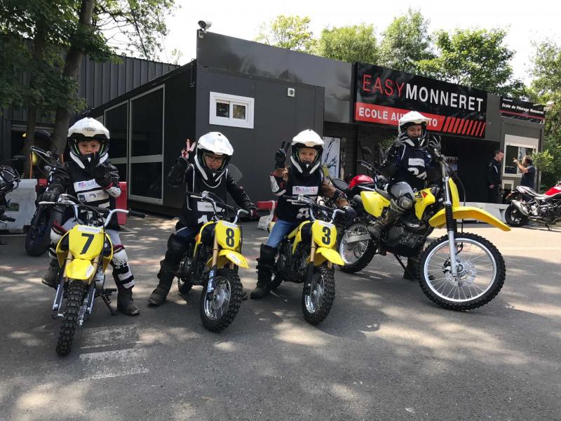 MOTO  ENFANT/ JUNIOR- Spécial anniversaire (7 à 12 ans)