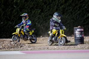 MINI MOTO ENFANT - 2h confirmé 7-12 ans sur Suzuki DR-Z 70