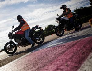 PERMIS MOTO - Cours de 3h de plateau