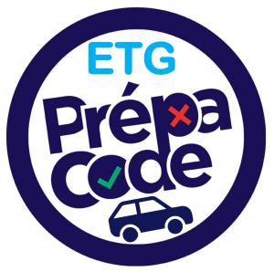 CODE DE LA ROUTE - Entrainement en ligne pour l'ETG (Permis voiture uniquement)