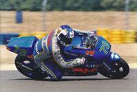 Philippe Monneret sur la Yamaha ROC 500 au GP de France 1995.