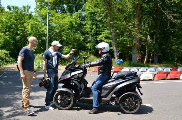 Essai 4 roues Quadro pour TF1 Automoto Philippe Monneret 2