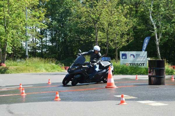 Essai 4 roues Quadro pour TF1 Automoto Philippe Monneret 3
