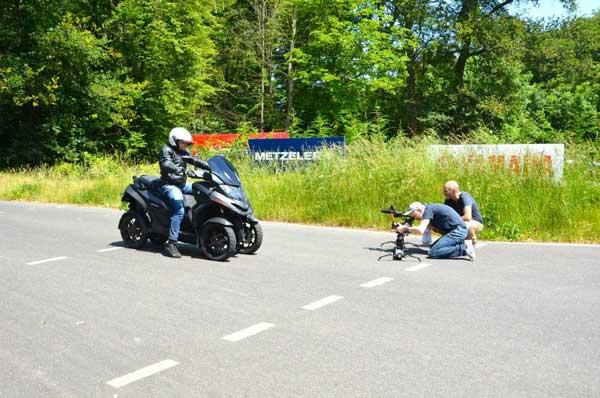 Essai 4 roues Quadro pour TF1 Automoto Philippe Monneret 5